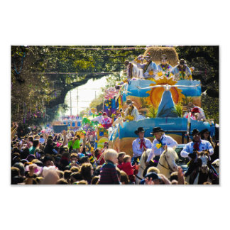 Thoth Mardi Gras Photo Print