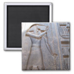 Thoth -  sacred god of knowledge 2 inch square magnet
