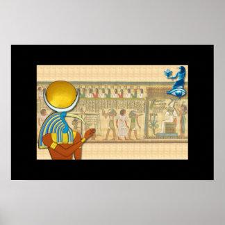 Thoth - señor de la sabiduría póster