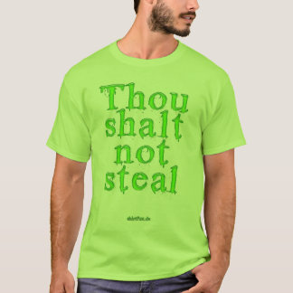 Thou scolded emergency steal T-Shirt