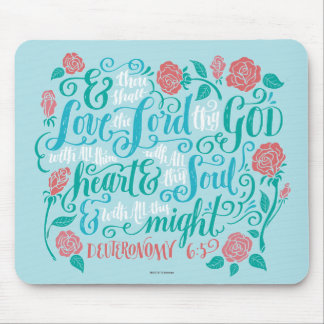 Thou Shalt Love the Lord thy God Mouse Pad