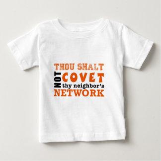 Thou Shalt Not Covet Thy Neighbor's Network T-shirt