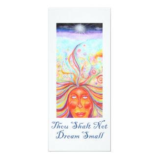 """Thou Shalt Not Dream Small"" Affirmation Card"