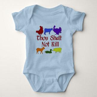 Thou Shalt Not Kill Baby Bodysuit