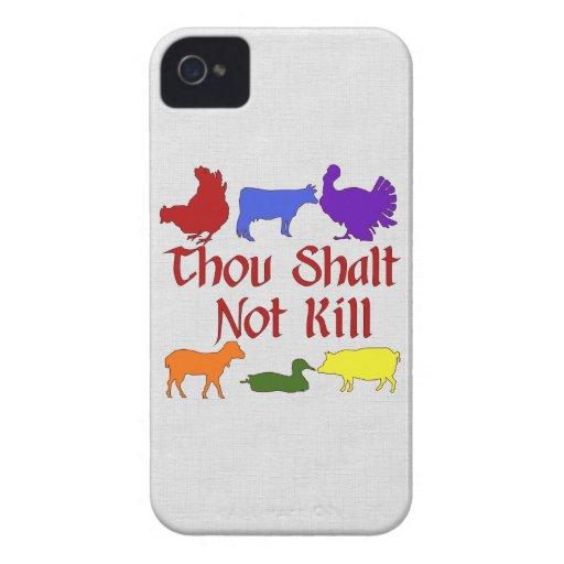 Thou Shalt Not Kill Blackberry Bold Cover