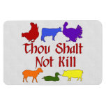 Thou Shalt Not Kill Flexible Magnet