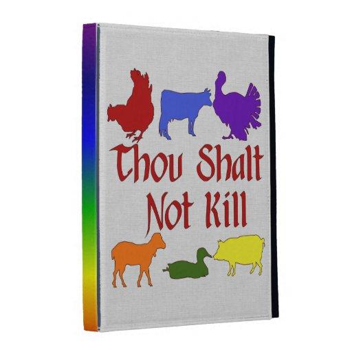 Thou Shalt Not Kill iPad Case