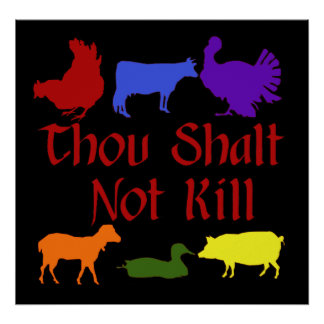 Thou Shalt Not Kill Poster