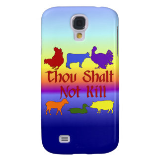 Thou Shalt Not Kill Samsung S4 Case