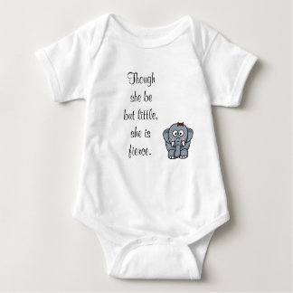 Though She Be But Little, She Is Fierce. T Shirt