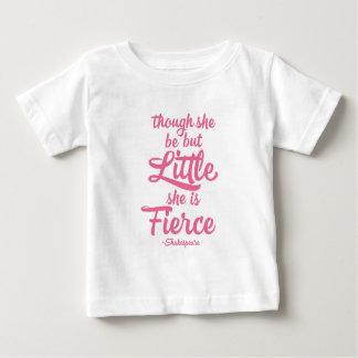Though she be little she is fierce, Shakespeare Tee Shirt