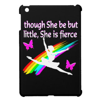 THOUGH SHE IS LITTLE SHE IS FIERCE DANCER DESIGN COVER FOR THE iPad MINI
