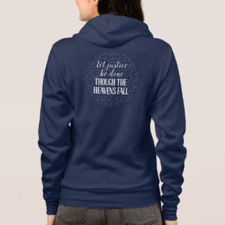 Though the Heavens Fall Fitted Navy Sweatshirt