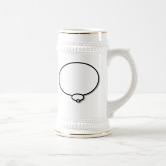 Thought Bubble Beer Stein
