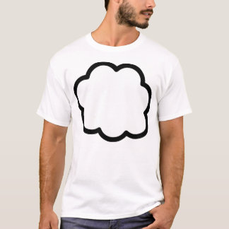 Thought Bubble Customize Customizable T-Shirt