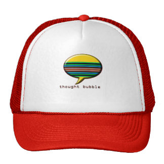 thought bubble trucker hats