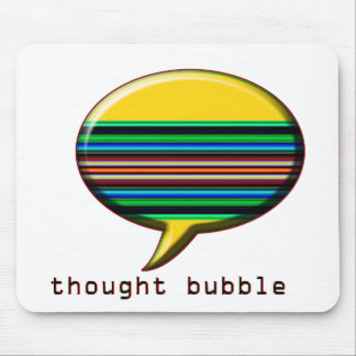 thought bubble mouse pad