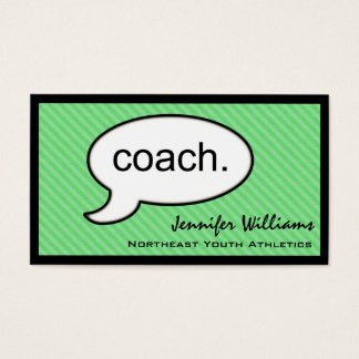 Thought Cloud Coach Business Card