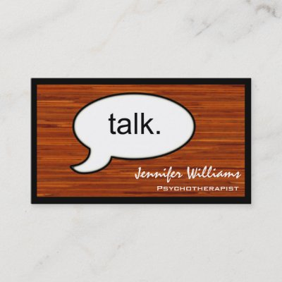 Psychotherapist counseling design business card zazzle colourmoves
