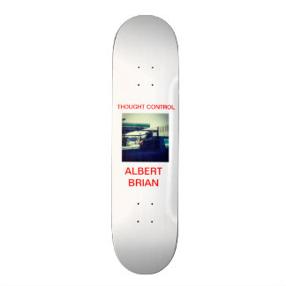 Thought Control Skateboards Deck #2