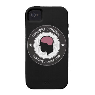 Thought Criminal iPhone 4/4S Covers