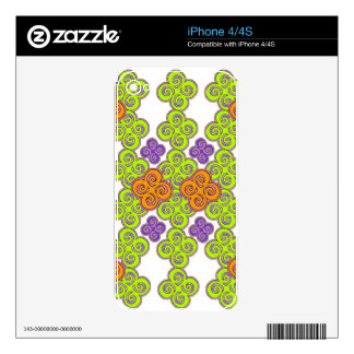 Thought Field Skin For iPhone 4