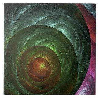Thought Forms - Awakened Egg by Joseph Maas Ceramic Tiles