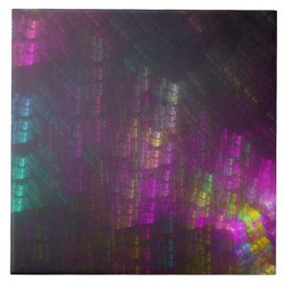 Thought Forms - Spectral Bamboo Ceramic Tile