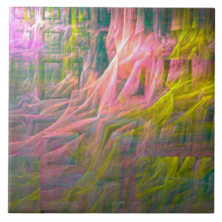 Thought Forms - Too Much Novocain by Joseph Maas Ceramic Tile