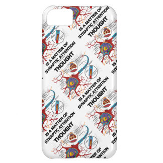 Thought Is A Matter Of Synaptic Attention (Neuron) Case For iPhone 5C
