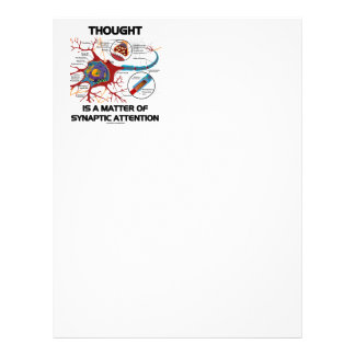 Thought Is A Matter Of Synaptic Attention (Neuron) Letterhead
