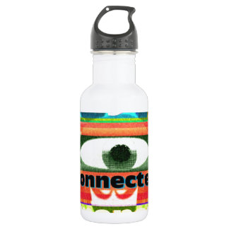 Thought of our inter-connectedness Oneness Water Bottle