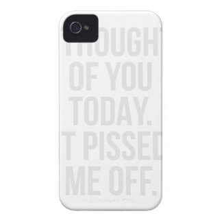Thought of you Today iPhone 4 Cover
