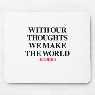 Thought on Wisdom Mouse Pad
