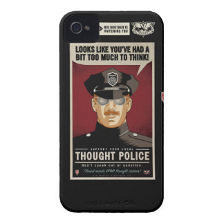 Thought Police Case-Mate Case iPhone 4 Cover