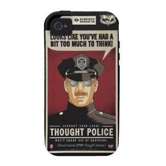 Thought Police Case-Mate Case Vibe iPhone 4 Cover
