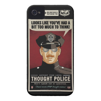 Thought Police Case-Mate Case iPhone 4 Case