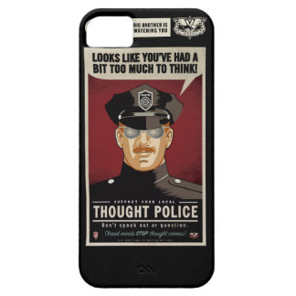 Thought Police Case-Mate Case iPhone 5 Cases