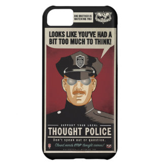 Thought Police Case-Mate Case iPhone 5C Cover