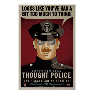Thought Police Poster Print