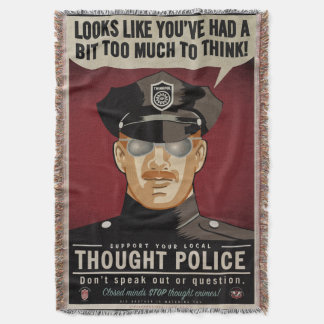 Thought Police Throw Blanket