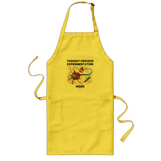 Thought Process Experimentation Inside (Neuron) Long Apron