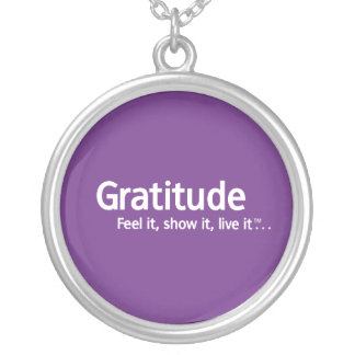 Thought Shapers™ Gratitude Necklace