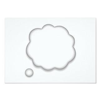 Thought Speech Bubble - Emoji Card