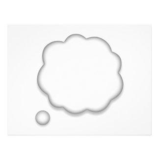 Thought Speech Bubble - Emoji Flyer
