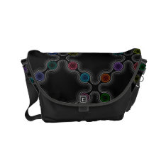 Thoughtforms - Messenger Bag By Vibrata at Zazzle