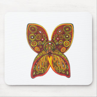 Thoughtful Angel Mouse Pad