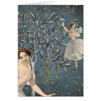 Thoughtful Fairies Card