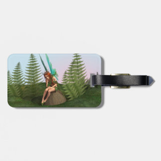 Thoughtful Fairy Luggage Tag