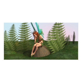 Thoughtful Fairy Photo Cards